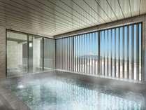 【大浴場】最上階14階には富士山を望むスカイスパを完備 ※イメージ