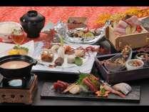 リーズナブルコース(写真はメイン料理をA【和風チーズフォンデュ】のチョイス!)