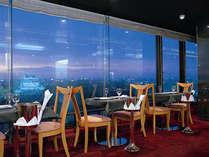 スカイレストラン夜景。