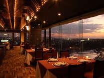 スカイレストラン夜景