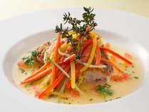 【スカイレストラン】メイン料理:魚