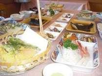 十勝の味覚 旬の味を楽しむ~ お写真はお料理の一部一例です