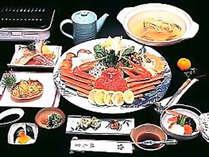 冬の味覚カニの美味しさをさまざまなお料理でお召し上がりいただけます★
