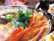 ほっこりお鍋がタマラナイ!※蟹鍋イメージ