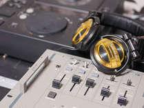 *【DJブース】主人はDJ経験あり!地元のアーティストライブなどとライブを行っています♪