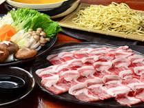 沖縄県産のアグー豚肉のしゃぶしゃぶプラン