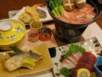 坂本龍馬の好物とされていた「軍鶏鍋」をご堪能下さい【軍鶏プラン写真一例】