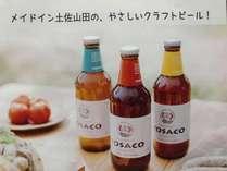 【じゃらん限定】天然温泉でグビっと★のど越し地ビール【TOSACO】をご満喫!《高知県産・地ビール付き》