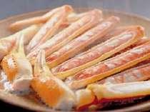【焼きガニは炭火と陶板の2種類で】松葉がにコース☆