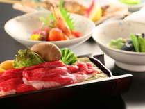 信州の旬の食材を用いたお料理をご堪能ください。