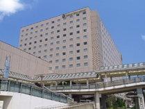 ホテル外観 JR新浦安駅直結でレジャーに、ビジネスに抜群のロケーション!