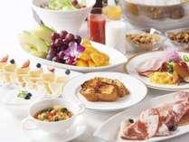 【ご朝食】レストラン「グランサンク」(6:30~10:00)50品以上の種類豊富な朝食ブッフェ