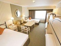 【グランデ6(42平米)】2段ベッドをご用意したお子様にも人気の客室。