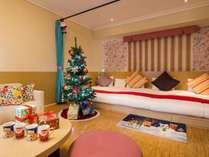 クリスマスルーム 【Kiddy Sweet】ミルフィユ(42平米)Kiddy Sweetで最も広い客室タイプ。