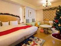 クリスマスルーム 【Baby's Sweet】オランジュ(42平米)Baby's Sweetで最も広いお部屋タイプ。