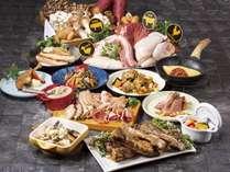 【ご夕食】レストラン「グランサンク」ディナーブッフェ 9~11月【肉フェス2019】