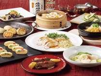 【ご夕食】「チャイニーズ・テーブル」ディナーブッフェ 9~11月 ※水・木定休(祝日・繁忙期除く)