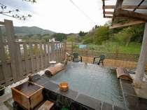 もがみの里山の大空と山々に包まれて★6箇所の露天内湯を何度でも自由に利用できる紅葉貸切露天満喫プラン