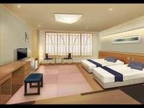リニューアル鷲羽閣5F客室※イメージ