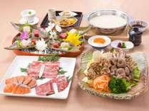 和風シチュー仕立の秋鮭と近江牛の白湯鍋おすすめ御膳