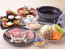(12月~2月)冬の味覚『牡蠣』と近江牛の2つ部位を食べ比べ!すき焼きおすすめ御膳