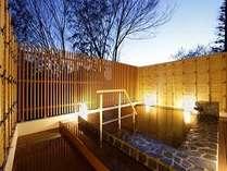「露天風呂」星を眺めながらのんびりと天然温泉をお楽しみください。