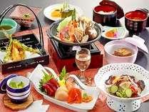 厳選された食材をお楽しみください。