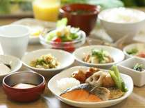 ■和洋朝食バイキング
