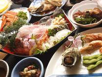 旬の地魚を中心に、海鮮料理がもりだくさん♪(画像はイメージです)