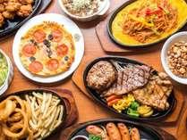 【朝食&夕食付】ステーキ&ハンバーグ匠 2食付き食べ飲み放題プラン