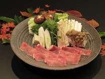 【信州安曇野豚しゃぶ鍋】地元ならではの味をご堪能くださいませ♪※お鍋の他、御造りや天婦羅も付きます。