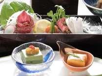 <お料理イメージ>旬の和会席料理をお楽しみくださいませ。