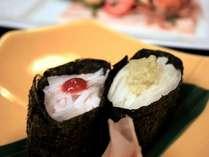 海無し県でも美味しいものはいっぱい!山のお寿司はいかがでですか♪