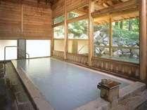 大浴場【湯元館】男女別にそれぞれ内湯と外湯があります。