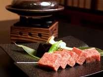 ご夕食のメインはA5ランクの長野県産和牛100gステーキ!『石焼きステーキ会席』をどうぞ♪
