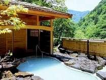 日射しとさわやかな風が心地いい!夏の野天風呂『鬼ヶ城』。