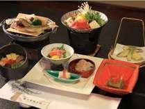 【六色膳プラン】信州の山の幸・川の幸を使った会席風定食プランとなります