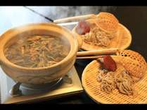 【湯元人気鍋投票プラン・壱】郷土料理のとうじ蕎麦を会席風で◆山菜のコクが絶妙◆懸賞付き
