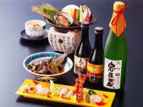 【50歳以上の方】 1名様以上ご一緒でお得に♪日本酒『義士浪漫』1本付き♪「50歳以上限定プラン」
