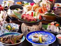 【料理グレードUP】 ふぐ鍋と豪華お造り七点盛り!厳選された海の幸を贅沢に堪能♪『海鮮極上グルメ会席』