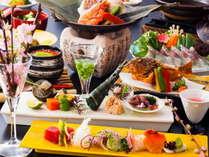 【春の季節限定】 春爛漫♪♪春野菜と桜鯛をはじめとする旬の魚介を堪能☆「桜鯛と春野菜の会席」