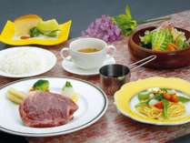夕食はステーキで!!肉派の方におすすめ【牛ステーキプラン】日本のひなた宮崎県★温泉で癒されよう♪