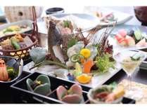 【贅沢にお魚を味わう】小豆島・四季の地魚の特選会席『海』 島の季節を彩り豊かに食す/1泊2食