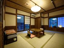 ●【離れ】半露天風呂付き2階建て和洋室