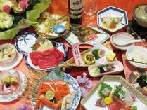 お料理も贅沢にグレードアップ「紫御膳」プラン