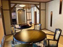 花の壱番客室和室16畳+16畳ベットルーム+露天風呂