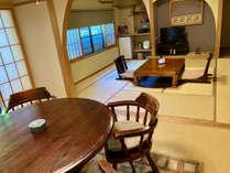 花の弐番客室 和室16畳+10畳ベットルーム+ウッドデッキテラス