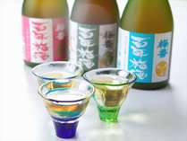 朝食付き【3種の地元梅酒をのみくらべ☆作りかたで色・香が変わる!】絶景ラウンジで、しっとり大人タイム