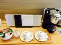 デラックスツインルームのみコーヒーメーカー/デラックスツインルーム
