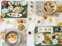 洋食・和食・中華粥膳・サラダ朝食からメインが選べる人気の朝食!/朝食
